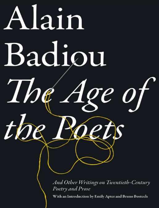 Alain Badiou: The Age of the Poets (Pdf)